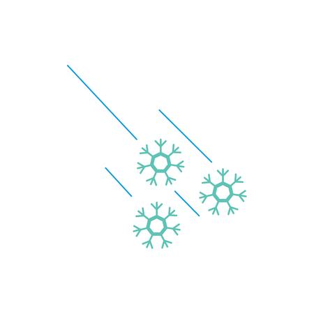 Neve Meteo Logo Icon Design