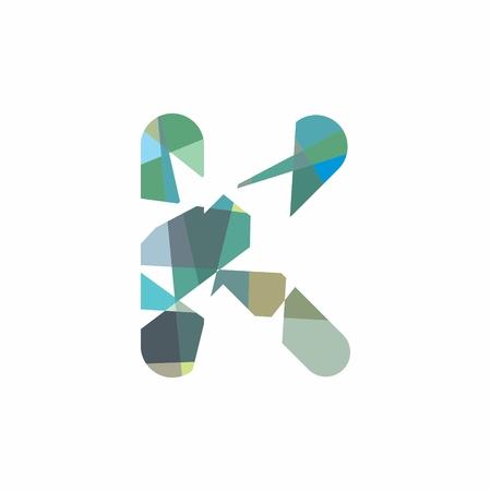 Alphabet K icon