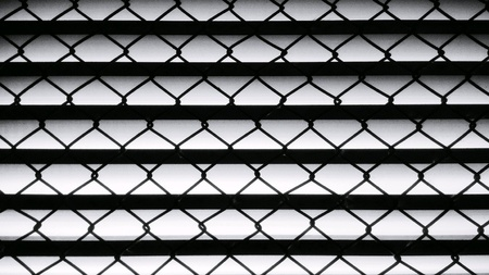 Pattern of wire mesh of the vents Stock Photo