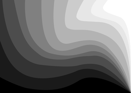 Abstract wave background. - Illustration Banner - Sign, Concepts & Topics, Internet, Single Line, Technology