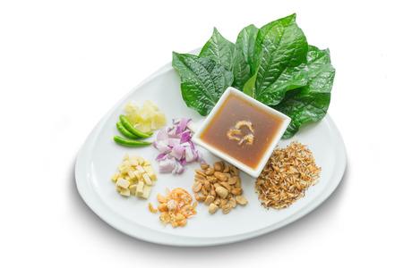 savoury: Miang Kham Savoury Leaf Wraps thai food