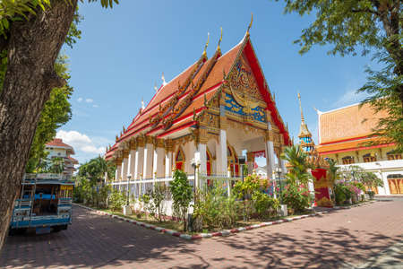 phuket: Thai Temple in Phuket Stock Photo