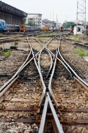 muddy tracks: cross Railway