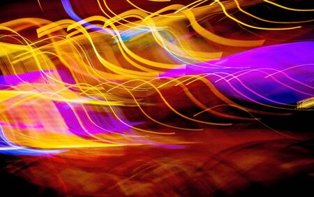 abstract light painting Standard-Bild