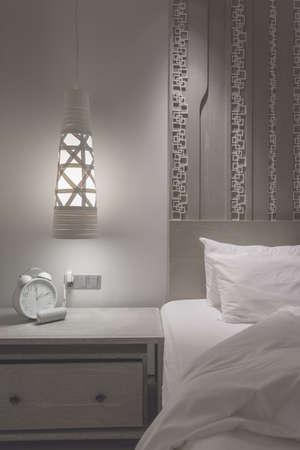 bedroom design: modern design bedroom with fade colour