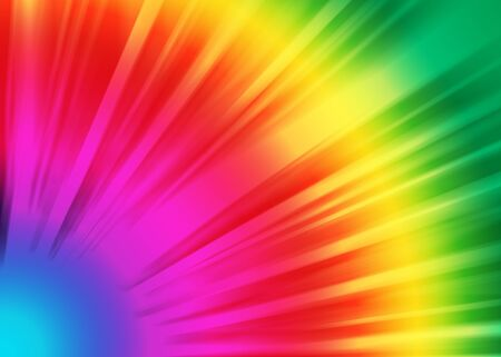 ray of lights: Colorful ray lights bokeh glitter defocused abstract background Stock Photo