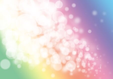 light pink: Colorful bokeh glitter defocused lights abstract background Stock Photo
