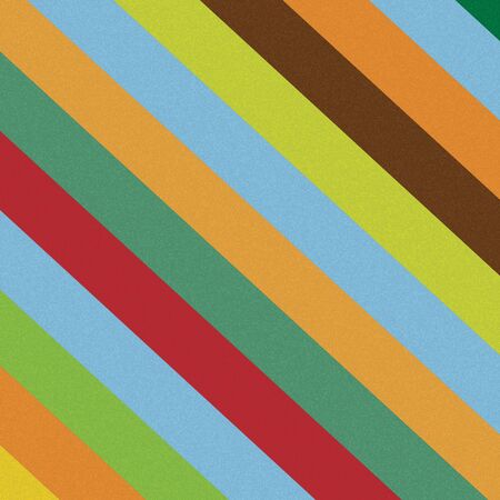 corduroy: Colorful diagonal lines pattern straight stripes texture background. Stock Photo
