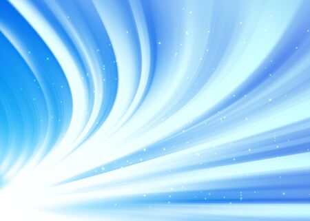blue ray: Blue ray lights glitter defocused abstract background Stock Photo