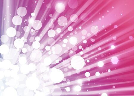 ray of lights: ray lights bokeh glitter defocused abstract background Stock Photo