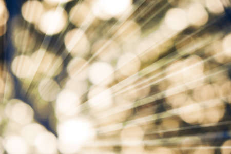 ray of lights: Vintage ray lights bokeh glitter defocused abstract background