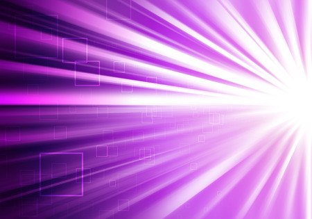 bright light: Purple ray lights technology defocused abstract background. Stock Photo