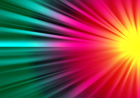 ray of lights: Colorful ray lights technology defocused abstract background.