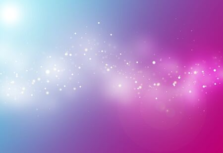 light ray: Pink and blue ray  bokeh glitter defocused lights abstract background
