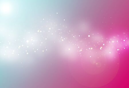 blue ray: Pink and blue ray  bokeh glitter defocused lights abstract background
