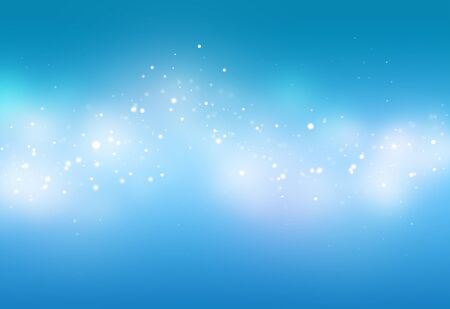 blue ray: Blue ray  bokeh glitter defocused lights abstract background