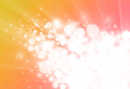 flicker: Gold and pink ray  bokeh glitter defocused lights abstract background