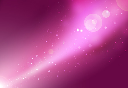 light pink: Pink glitter galaxy sparkle defocused rays lights bokeh abstract background.