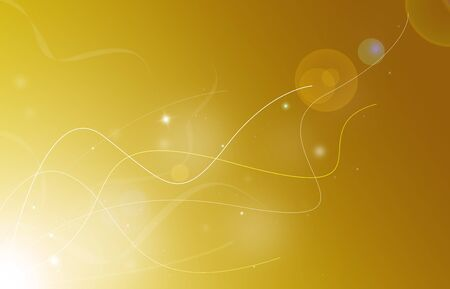 analyzer: Beautiful lines technology glitter sparkle defocused rays lights bokeh abstract gold background. Stock Photo