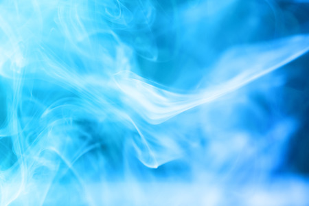 blue smoke: Blue smoke abstract dark background
