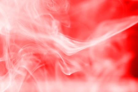 red smoke: Red smoke abstract dark background