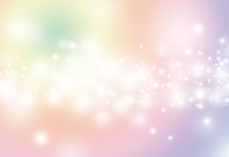 softness: Soft color glitter sparkles defocused rays lights bokeh abstract christmas background. Stock Photo