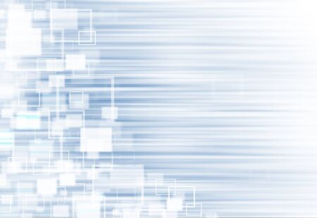 ray of lights: Soft Blue ray lights technology defocused square abstract background.