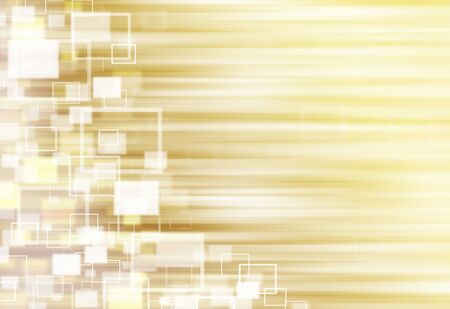 ray of lights: Gold ray lights technology defocused square abstract background.