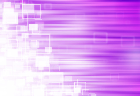 ray of lights: Purple ray lights technology defocused square abstract background.