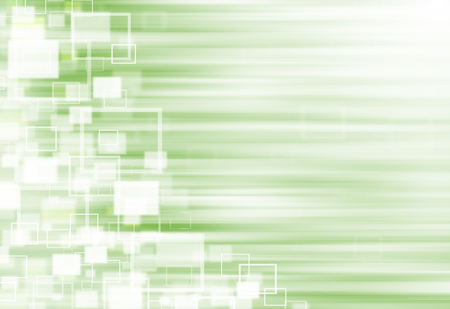 ray of lights: Green ray lights technology defocused square abstract background. Stock Photo