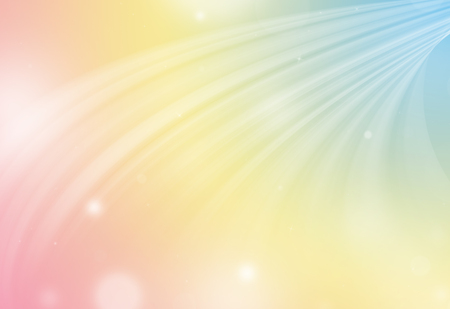 down lights: Pastel color glitter sparkle defocused rays down lights bokeh abstract holiday background. Stock Photo