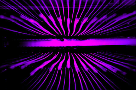 emanate: Purple sparkle sound wave rays light beautiful abstract  background texture.