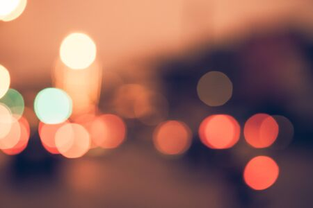 ray of lights: Night in city ray lights bokeh glitter defocused abstract background