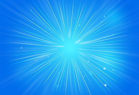 rays of light: Abstract sparkles rays light explosion blue backgroundtexture.