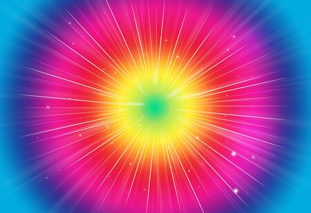 rays of light: Abstract sparkles rays light explosion colorful backgroundtexture. Stock Photo