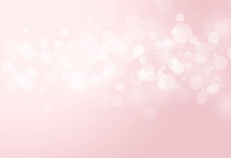Pink sparkles glitter and rays lights bokeh abstract valentine backgroundtexture. Banco de Imagens