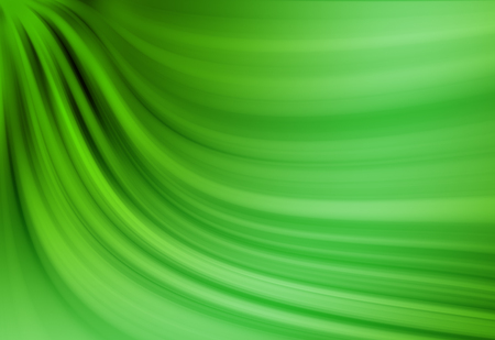 Green twirl and  radial rays twinkled lights beautiful abstract background. Stock Photo