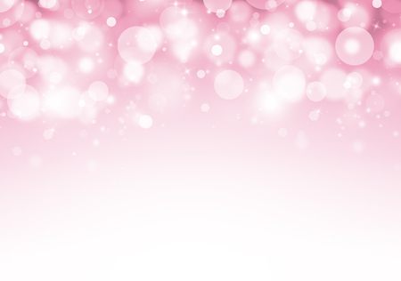 Soft Pink glitter sparkles rays lights bokeh Festive Elegant abstract valentine background.