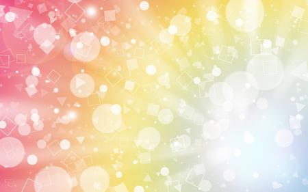 Pastel glitter sparkles rays lights bokeh Festive Elegant abstract background. Фото со стока