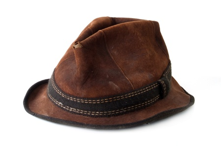 Ein alter Hut (braun)