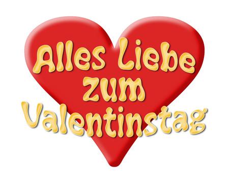 Viel Liebe für Valentine s Day mit Herz Lizenzfreie Bilder