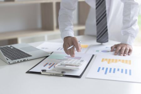 Both accountants have checked the company's finances. Have checked the work and profit of the company In order to plan for business expansion to the European zone and nearby areas