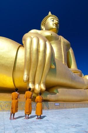Big Buddha, Mouang Temple, Angthong, Thailand