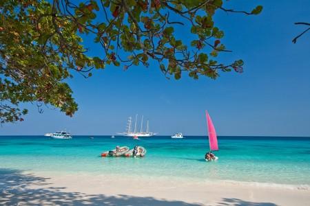 Pink Sail, Similan Islands, Marine National Park, South of Thailand