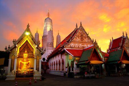 Mahathat Temple, Phetchaburi, Thailand Stock Photo