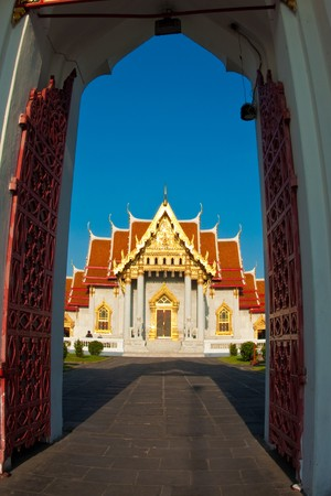 ordinate: Sanctuary Benjamaborpit Temple, Bangkok, Thailand