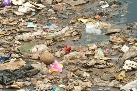 Midden Wastewater, Garbage, Pollution, Bad Life photo