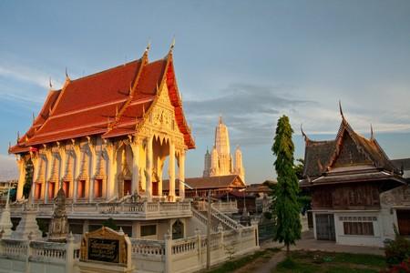 Mahathat Temple, Phetchaburi, Thailand photo