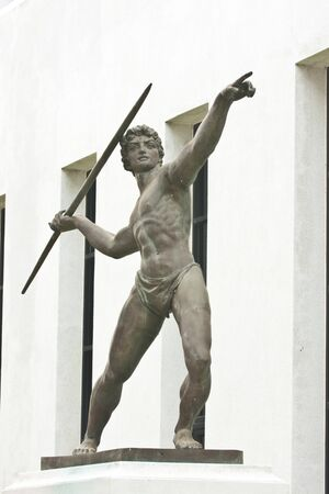 Statue, Sculpture Athletics