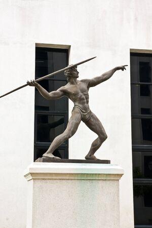 Statue, Sculpture Athletics  photo